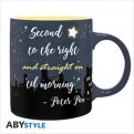 ABYMUG560 - DISNEY - TAZZA 320ML - PETER PAN SECOND STAR TO THE RIGHT