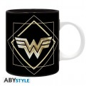 ABYMUG801 - DC COMICS - TAZZA 320ML - WONDER WOMAN GOLDEN