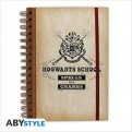 ABYNOT003 - HARRY POTTER - NOTEBOOK HOGWARTS SCHOOL
