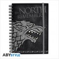 ABYNOT018 - GAME OF THRONES - NOTEBOOK STARK