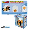 ABYPCK123 - DRAGON BALL - MINI-MUG + PORTACHIAVI + BICCHIERE 'CRYSTALL BALL'