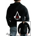 ABYSWE005L - FELPA - ASSASSIN'S CREED III - CREST BLACK L