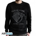 ABYSWE030L - GAME OF THRONES - SWEAT-SHIRT UOMO - STARK - L