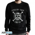 ABYSWE031S - ONE PIECE - SWEAT-SHIRT UOMO - STRAW HAT CREW - S