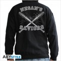 ABYSWE048 - THE WALKING DEAD - FELPA CON CAPPUCCIO HOODIE XL