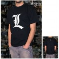 ABYTEX022M - DEATH NOTE T-SHIRT UOMO - L TRIBUTE - M