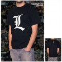ABYTEX022S - DEATH NOTE T-SHIRT UOMO - L TRIBUTE - S