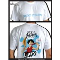 ABYTEX060L - T-SHIRT - ONE PIECE - LUFFY SMILE L