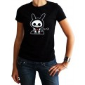 ABYTEX062M - T-SHIRT SKELANIMALS DONNA JACK M