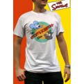 ABYTEX075M - T-SHIRT UOMO ITCHY & SCRATCHY M