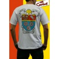 ABYTEX077M - T-SHIRT UOMO BEER TV DONUTS M
