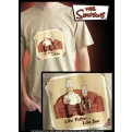 ABYTEX094XL - T-SHIRT SIMPSONS LIKE FATHER LIKE SON XL