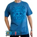 ABYTEX100L - T-SHIRT - ONE PIECE - SKULL WITH MAP USED L