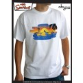 ABYTEX101M - T-SHIRT UOMO HOMER ON THE BEACH  M