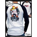 ABYTEX111M - T-SHIRT - SIMPSONS - ISOTOPE MANICHE LUNGHE - M