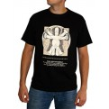 ABYTEX133XL - T-SHIRT HOMER DA VINCI BLACK XL
