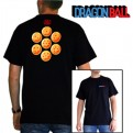ABYTEX139L- T-SHIRT - DRAGON BALL - SFERE DEL DRAGO - L