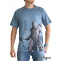 ABYTEX194M - T-SHIRT - ASSASSIN'S CREED III - CONNOR BLU M
