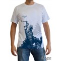 ABYTEX195M - T-SHIRT - ASSASSIN'S CREED III - CONNOR BIANCO M