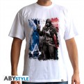ABYTEX298M - T-SHIRT - ASSASSIN'S CREED UNITY - AC5 FLAG M