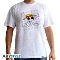 ABYTEX322XXL - T-SHIRT - ONE PIECE - SKULL DRAWN BY LUFFY - UOMO XXL