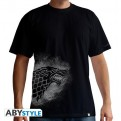 ABYTEX327L - T-SHIRT - GAME OF THRONES - STARK SPRAY - UOMO L