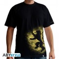 ABYTEX328S - T-SHIRT - GAME OF THRONES - LANNISTER SPRAY - UOMO S