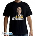 ABYTEX420L - T-SHIRT - ONE-PUNCH MAN - SAITAMA FUN - L