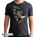 ABYTEX426 - T-SHIRT - OVERWATCH - TRACER DARK GREY XS