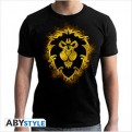 ABYTEX442L - T-SHIRT - WORLD OF WARCRAFT - ALLIANCE - L