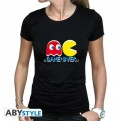 ABYTEX445M - T-SHIRT DONNA - PAC MAN - GAME OVER - M