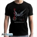 ABYTEX462 - STAR WARS THE LAST JEDI - T-SHIRT TIE SILENCER BLACK XXL