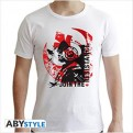 ABYTEX464 - STAR WARS THE LAST JEDI - T-SHIRT XWING PILOT WHITE L