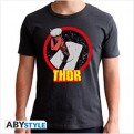 ABYTEX471 - T-SHIRT - MARVEL - THOR DARK GREY S