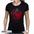 ABYTEX492M - T-SHIRT DONNA - GAME OF THRONES - TARGARYEN VISERION M