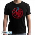 ABYTEX493L - T-SHIRT UOMO - GAME OF THRONES - TARGARYEN VISERION L