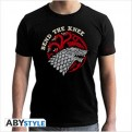 ABYTEX494M - T-SHIRT UOMO - GAME OF THRONES - BEND THE KNEE M