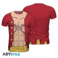 ABYTEX518S - T-SHIRT UOMO - ONE PIECE - LUFFY NEW WORLD S