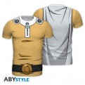 ABYTEX561L - T-SHIRT UOMO - ONE PUNCH MAN - SAITAMA L