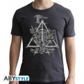 ABYTEX563L - HARRY POTTER - T-SHIRT - DEATHLY HALLOWS - L