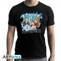 ABYTEX566L - T-SHIRT UOMO - DRAGON BALL SUPER - GOKU & VEGETA L