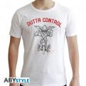 ABYTEX601S - T-SHIRT UOMO - GREMLINS - OUTTA CONTROL S