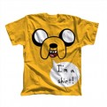 ADVENTURE TIME - T-SHIRT -  JAKE I'M A SHIRT - L