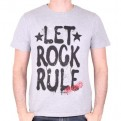 AEROSMITH - TS013 - T-SHIRT LET ROCK RULE L