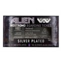 ALIEN - SILVER PLATED TICKET - NOSTROMO BOARDING TICKET