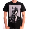 ARKHAM ORIGINS - TS012 - T-SHIRT BATMAN JOKER FACE S