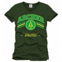 ARROW TV - TS017 - T-SHIRT ATHLETIC GREEN ARROW S