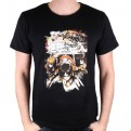 ATTACK ON TITAN - TS004 -T-SHIRT CREW FIGHT L