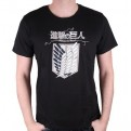 ATTACK ON TITAN - TS005 - T-SHIRT BLASON ATTACK ON THE TITAN XL