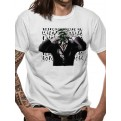 BATMAN - T-SHIRT - SINISTER JOKER - S